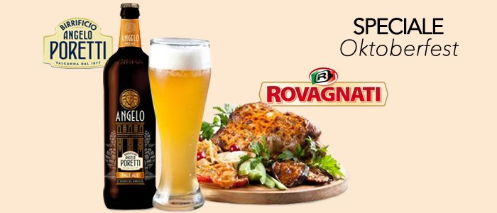 Speciale Oktoberfest: Stinco Rovagnati e Birra Poretti