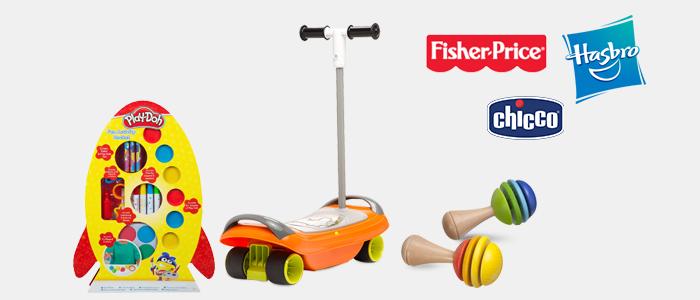 Chicco, Fisher Price e Hasbro: giochi e prima infanzia