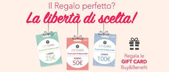 Gift Card: Il Regalo Perfetto, la libertà di scelta!