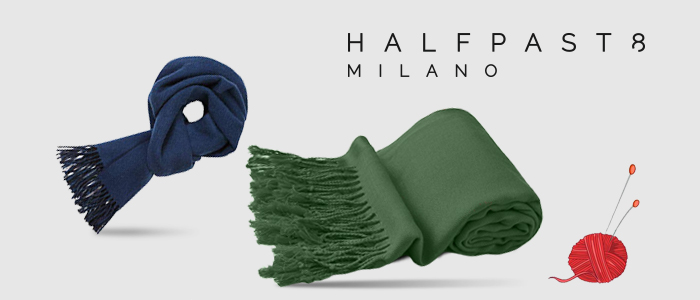 HALFPAST8®: sciarpe Made in Italy