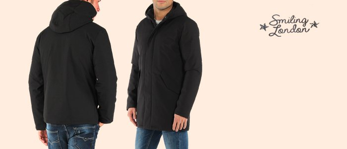 Smiling London giacche uomo Softshell Double-Face