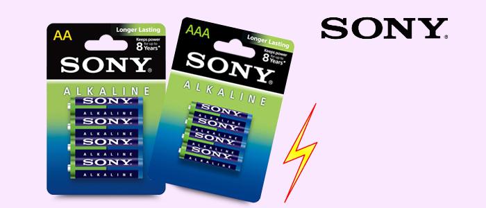 Sony Pile stilo e ministilo