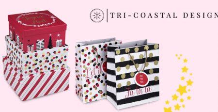 Tri-Coastal cartoleria natalizia e idee regalo