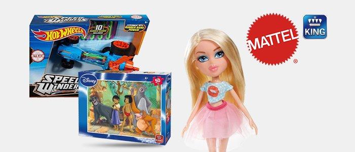 Mattel giochi e Disney King puzzle