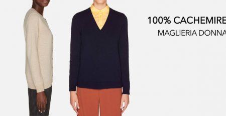 100% Cachemire Maglioni Donna