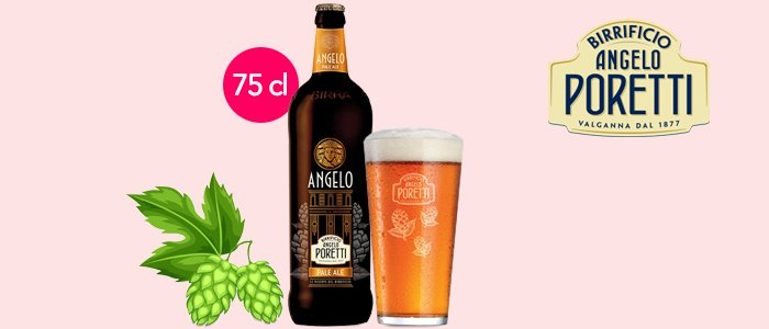 Angelo Poretti Pale Ale 75cl