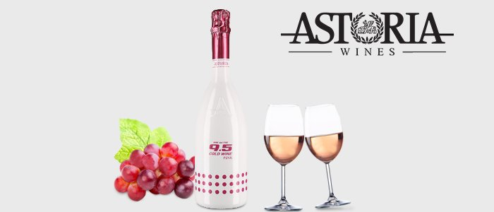 Astoria 9.5 Cold Wine Pink Extra Dry