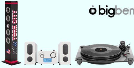 Bigben Interactive: Speaker Wireless, Giradischi e Sistemi Audio
