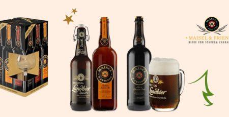 Maisel&Friends: birra e confezioni regalo