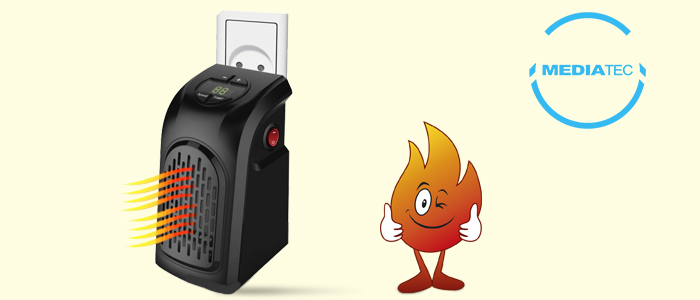 Mediatec PocketHeater: Stufa Elettrica Portatile