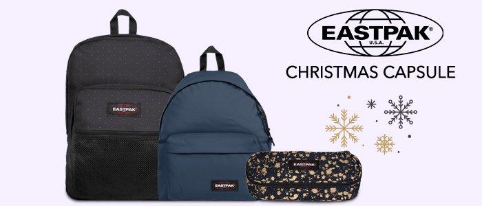 Eastpak Christmas Capsule: zaini e accessori