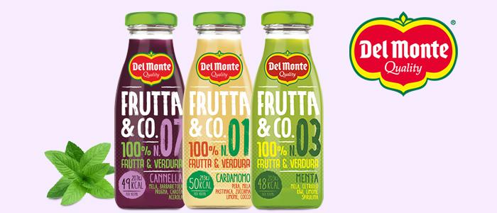 Del Monte Frutta&Co: Estratti di Frutta, Verdura e cereali
