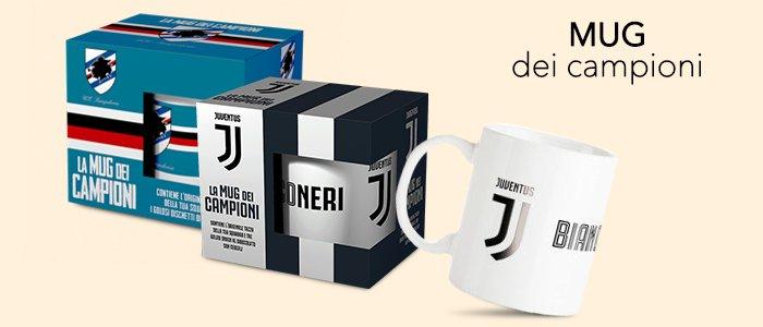 Mug dei Campioni: l'originale tazza della tua Squadra