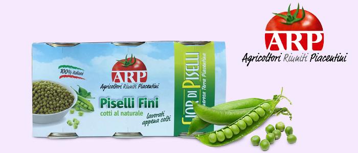 Agricoltori Riuniti Piacentini: Piselli Fini 3x400gr