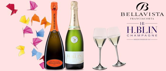 PROMOZIONE: Bellavista Alma Gran Cuvée Brut & H.Blin Champagne