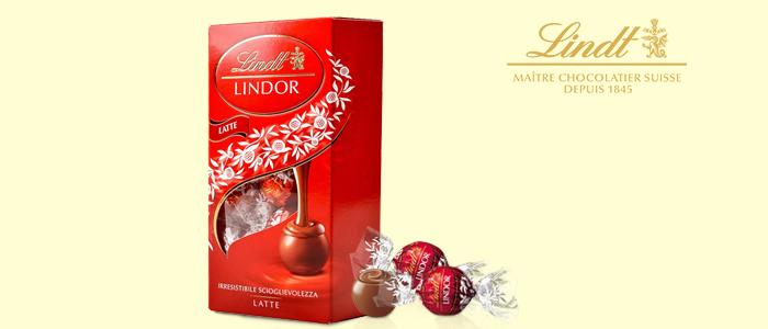 PROMOZIONE: Lindt Lindor Praline al Cioccolato