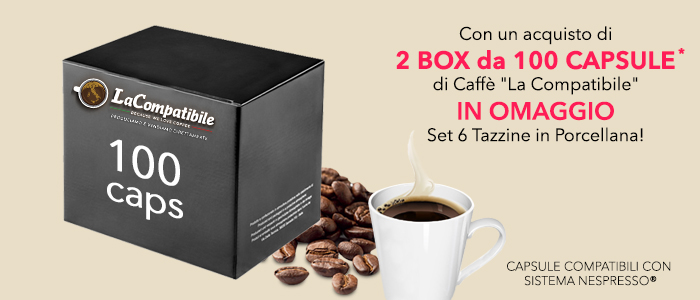 SPECIALE PROMOZIONE Caffè La Compatibile