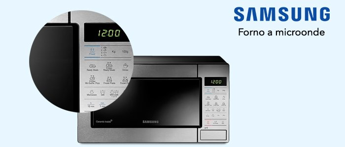 Samsung forno Microonde Grill GE83M