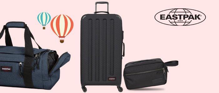 In viaggio con Eastpak: trolley, valigie, zaini e accessori
