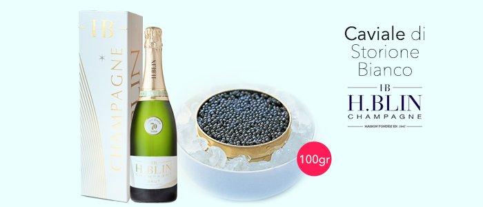 PROMOZIONE Caviale & Champagne H.Blin