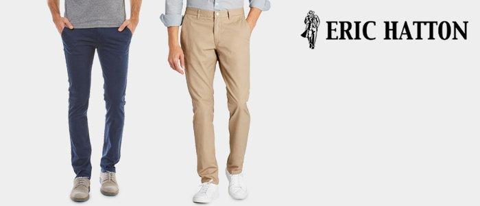 Eric Hatton: pantaloni estate 2019