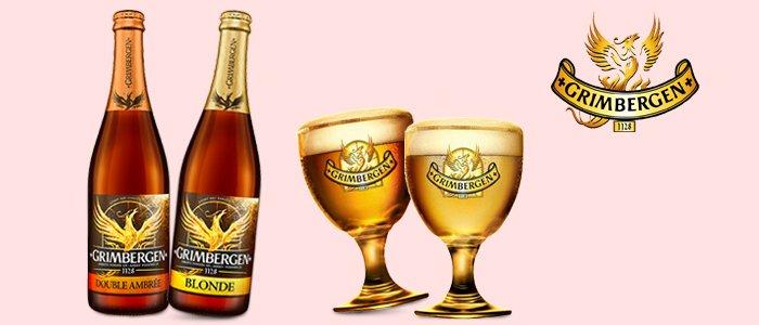 Grimbergen: birra Blonde e Double Ambrée