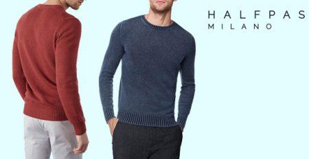 HALFPAST8: Maglie 100% cotone Uomo