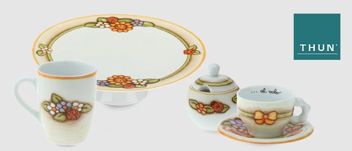 THUN: tazzine, piatti, mug e oggettistica