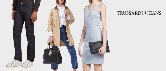 Trussardi Jeans: abbigliamento uomo/donna
