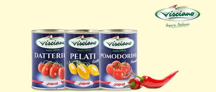 Visciano Sapore Italiano: Pomodori e Pelati
