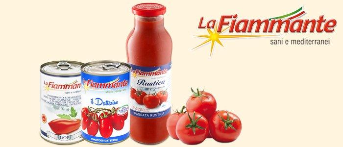 La Fiammante: pomodori, datterini e passata