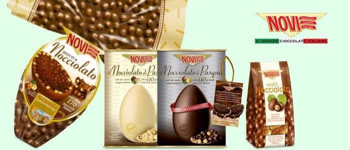 Novi: Uova di cioccolato e ovetti