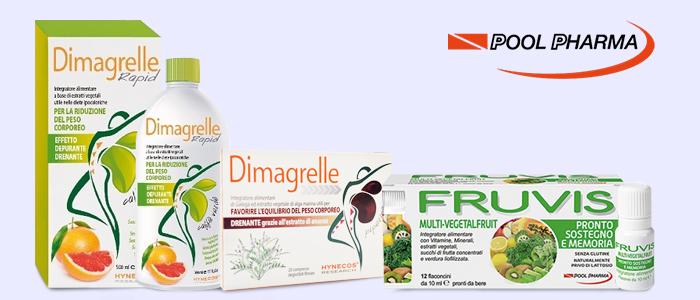 Pool Pharma: Dimagrelle Drenanti e Fruvis Integratori
