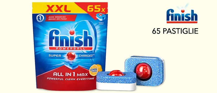 Finish Powerball All In 1 Max - 65 Tabs