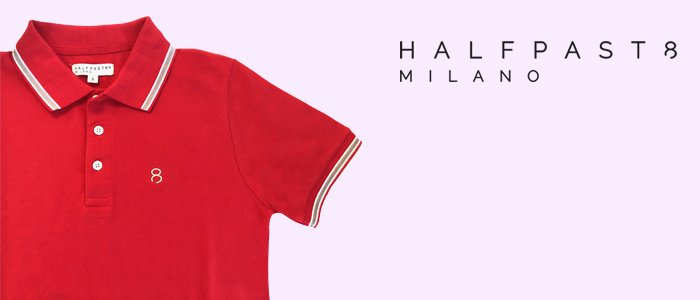 Promozione: HALFPAST8 Polo Uomo