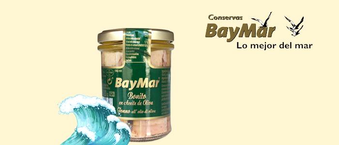 BayMar: bonito all'olio d'oliva 190gr