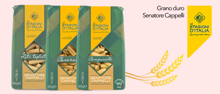 Le Stagioni D'Italia: pasta grano Senatore Cappelli