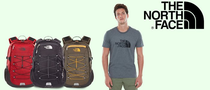 The North Face: Zaini e T-Shirt