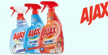 Ajax Anticalcare, Sgrassatore e Bagno