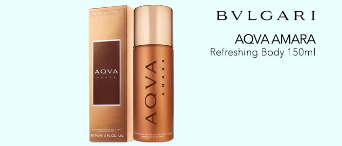Bvlgari Aqva Amara: Refreshing Body 150ml