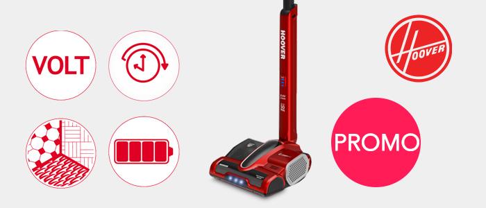 Promozione Hoover Scopa Wireless CV216RB011 0.8 litri