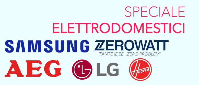Speciale Grandi Elettrodomestici: Extra Sconto -10%