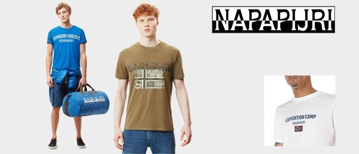 Napapijri: t-shirt e polo uomo