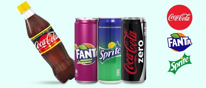 Speciale bibite: Coca-Cola, Sprite e Fanta Passion Fruit
