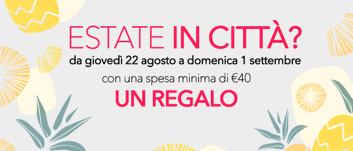 Estate in città? Un regalo per te!