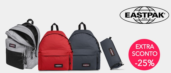 Eastpak Back to school: zaini, cartelle e astucci