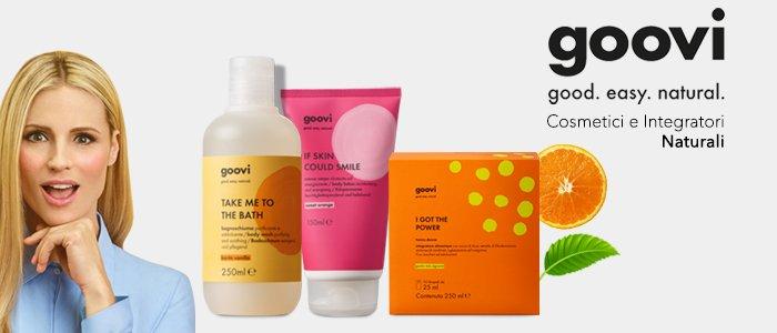 Goovi: Cosmetici e Integratori Naturali