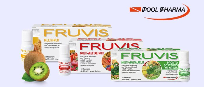 Poolpharma Fruvis Multi-Vegetal Fruit e Pappa Reale