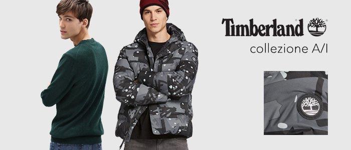 Timberland abbigliamento uomo Collezione Autunno Inverno