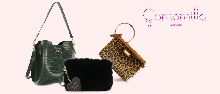 Camomilla Nuova Collezione 2019/2020: borse, pochette e portafogli
